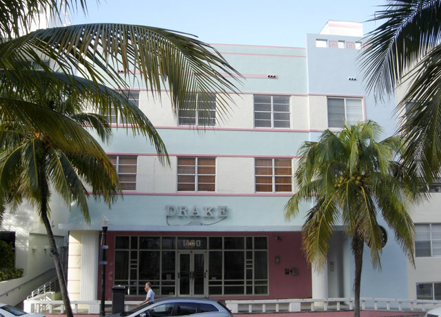 Miami Design Preservation League's Building of the Month: The Drake, 1460 Ocean Drive