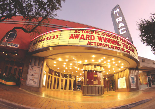 Actors' Playhouse at the Miracle Theatre Receives City Beautiful Award for Historic Preservation