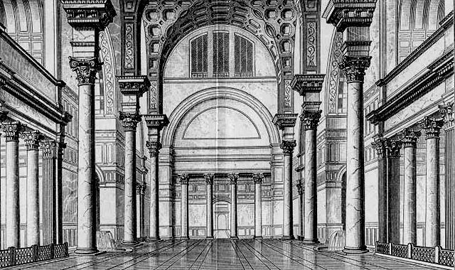 When in Rome: Drawings and photographs by students enrolled in the University of Miami School of Architecture Rome Program