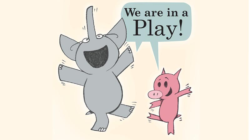 elephant and piggie we are in a play script