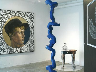 Artformz Alternative. Interior view. Miami Art News