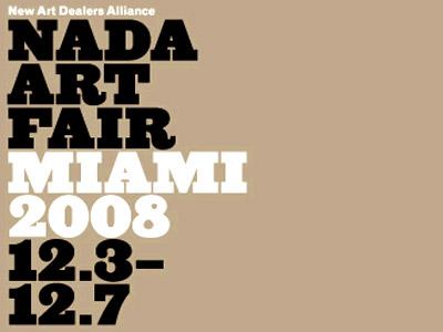 Nada Art Fair 2008 Miami Miami Art Guide