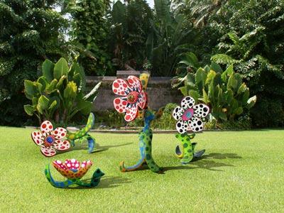 Yayoi Kusama at the Fairchild Tropical Botanic Garden – Miami Art Guide