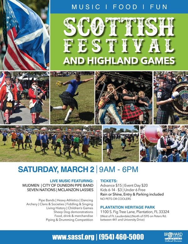 Scottish Festival + Highland Games | Miami Art Guide